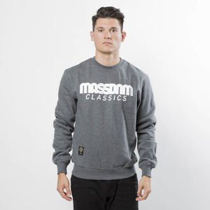 Mass DNM bluza Sweatshirt Crewneck Classics - dark heather grey