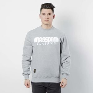 Mass DNM bluza Sweatshirt Crewneck Classics - light heather grey