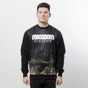 Mass DNM bluza Sweatshirt Crewneck Eclipse - black