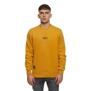 Mass DNM bluza Sweatshirt Crewneck Signature Small Logo - wheat