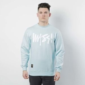 Mass DNM bluza Sweatshirt Crewneck Signature - light blue