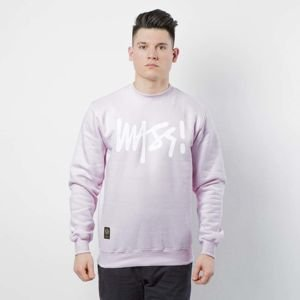 Mass DNM bluza Sweatshirt Crewneck Signature - light pink