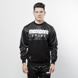 Mass DNM bluza Sweatshirt Crewneck Stripe - black QUICKSTRIKE