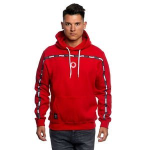 Mass DNM bluza Sweatshirt Gap Hoody - red