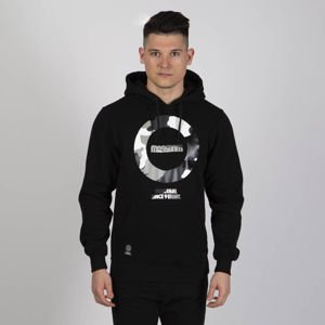 Mass DNM bluza Sweatshirt Hidden Hoody - black
