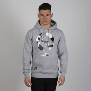 Mass DNM bluza Sweatshirt Hidden Hoody - light heather grey
