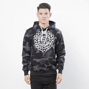Mass DNM bluza Sweatshirt Hoody Base - black camo