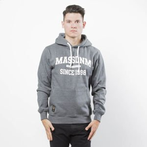 Mass DNM bluza Sweatshirt Hoody Campus - dark heather grey