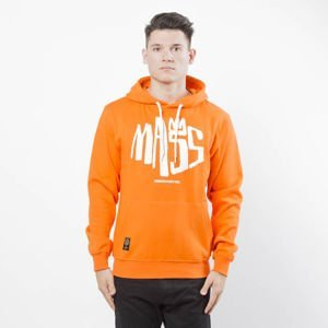 Mass DNM bluza Sweatshirt Hoody Crown - orange