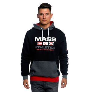 Mass DNM bluza Sweatshirt Hoody Cruise - black