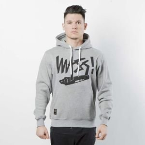 Mass DNM bluza Sweatshirt Hoody Marker - light heather grey