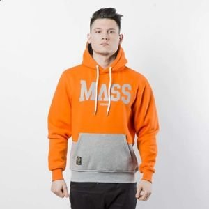 Mass DNM bluza Sweatshirt Hoody Master - orange