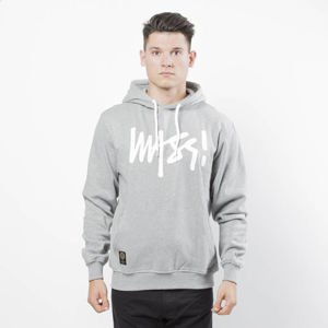 Mass DNM bluza Sweatshirt Hoody Signature - light heather grey