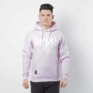 Mass DNM bluza Sweatshirt Hoody Signature - light pink