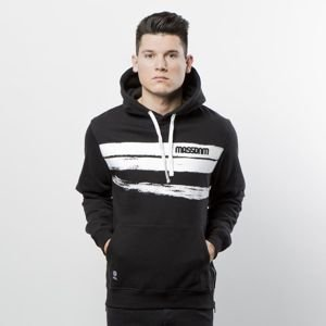 Mass DNM bluza Sweatshirt Hoody Traces - black