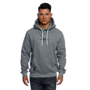 Mass DNM bluza Sweatshirt Hoody Track - light heather grey