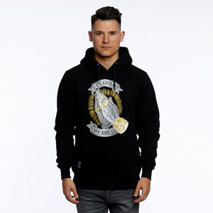 Mass DNM bluza Sweatshirt In Gold We Trust Hoody - black