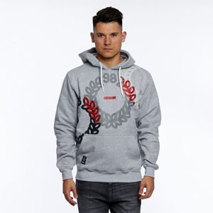 Mass DNM bluza Sweatshirt Jam Hoody - light heather grey