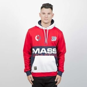 Mass DNM bluza Sweatshirt Meeting Hoody - red