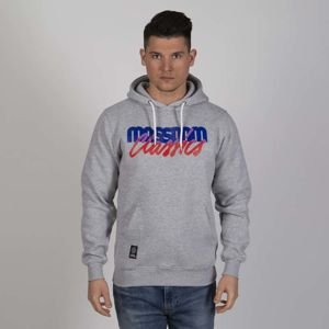 Mass DNM bluza Sweatshirt Postscript Hoody - light heather grey