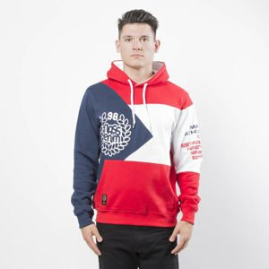 Mass DNM bluza Sweatshirt Republic Hoody - red