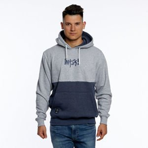 Mass DNM bluza Sweatshirt Result  Hoody - light heather grey