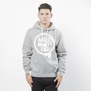 Mass DNM bluza Sweatshirt Return Hoody - light grey heather