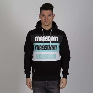 Mass DNM bluza Sweatshirt Separate Hoody - black