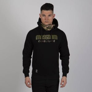 Mass DNM bluza Sweatshirt Shelter Hoody - black