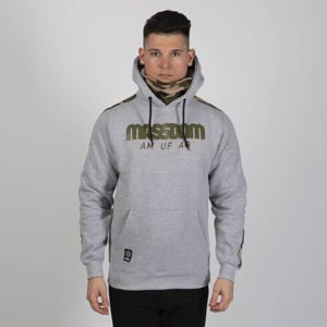 Mass DNM bluza Sweatshirt Shelter Hoody - light heather grey