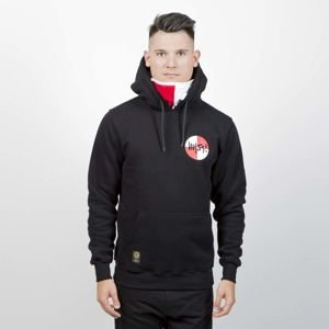 Mass DNM bluza Sweatshirt Signature Flag Hoody - black