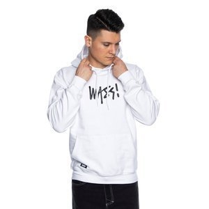 Mass DNM bluza Sweatshirt Signature Medium Logo Hoody - biała