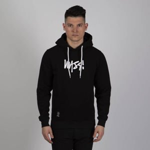 Mass DNM bluza Sweatshirt Signature Medium Logo Hoody - black