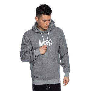 Mass DNM bluza Sweatshirt Signature Medium Logo Hoody - szara