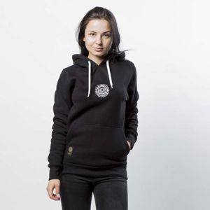 Mass DNM bluza damska Base SL Embroidered Sweatshirt Hoody WMNS - black LIMITED EDITION