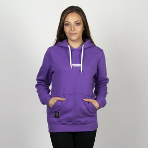 Mass DNM bluza damska Classics SL Embroidered Sweatshirt Hoody WMNS - purple LIMITED EDITION