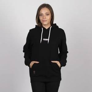 Mass DNM bluza damska Classics SL Embroidered Sweatshirt HoodyWMNS - black LIMITED EDITION