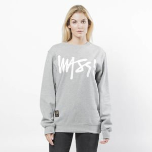 Mass DNM bluza damska Sweatshirt Crewneck Signature WMNS - light heather grey