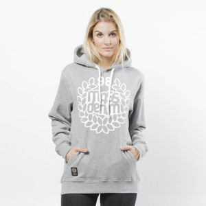 Mass DNM bluza damska Sweatshirt Hoody Base WMNS - light heather grey