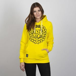 Mass DNM bluza damska Sweatshirt Hoody Base - yellow