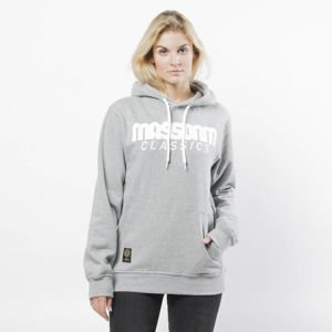 Mass DNM bluza damska Sweatshirt Hoody Classics WMNS - light heather grey