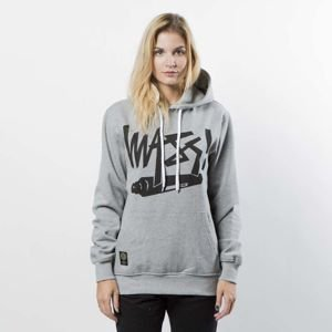 Mass DNM bluza damska Sweatshirt Hoody Marker WMNS - light heather grey