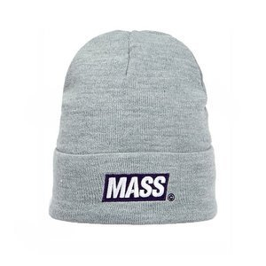 Mass DNM czapka zimowa Big Box Beanie light heathr grey
