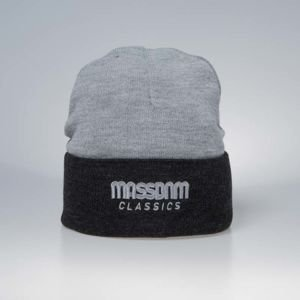 Mass DNM czapka zimowa Section Beanie heather grey