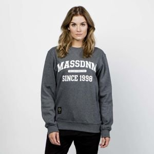 Mass DNM damska bluza Sweatshirt Crewneck Campus - dark heather grey WMNS