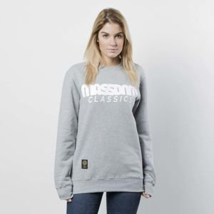 Mass DNM damska bluza Sweatshirt Crewneck Classics WMNS - light heather grey