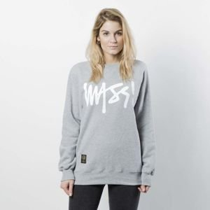Mass DNM damska bluza Sweatshirt Crewneck Signature WMNS - light heather grey