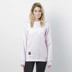 Mass DNM damska bluza Sweatshirt Crewneck Signature WMNS - light pink