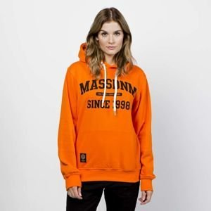 Mass DNM damska bluza Sweatshirt Hoody Campus - orange WMNS