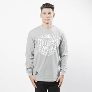 Mass DNM koszulka Base Longsleeve - light heather grey
